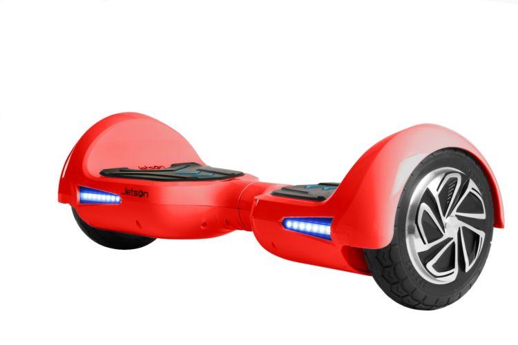 jetson v6 red balance scooter hoverboard c w bluetooth. Black Bedroom Furniture Sets. Home Design Ideas