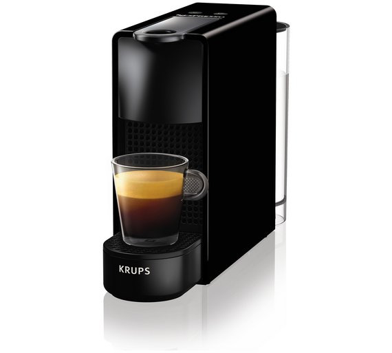 krups nespresso xn110840 black essenza mini coffee machine jack fitzgerald electrical. Black Bedroom Furniture Sets. Home Design Ideas