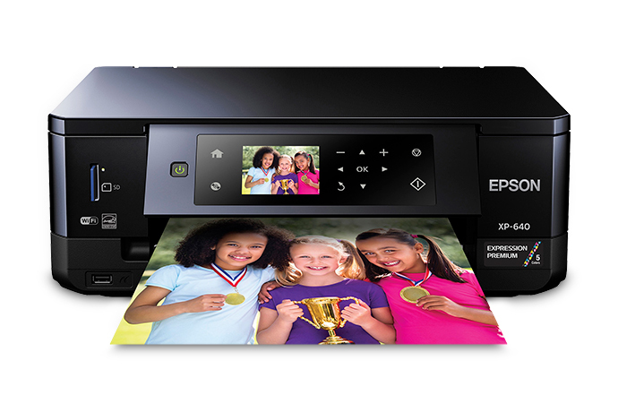 Epson Expression Premium Xp 640 Small In One All In One
